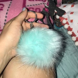 Accessories - Tiffany blue puff ball
